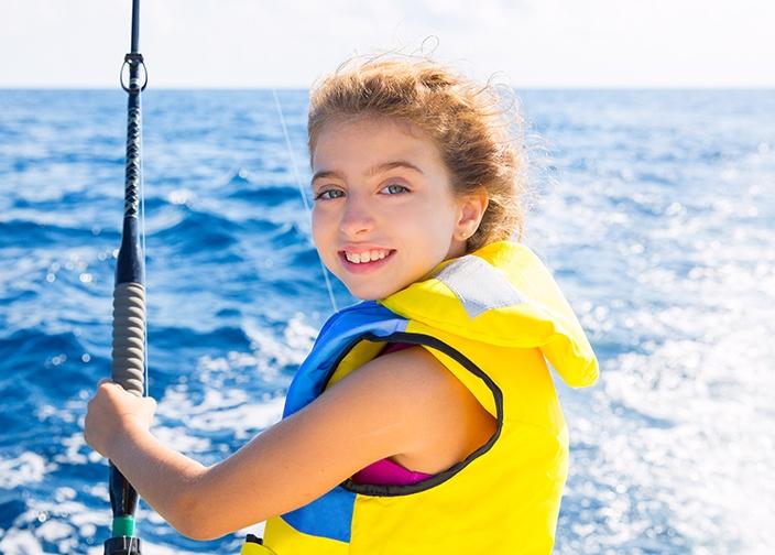 Kid Love Fishing